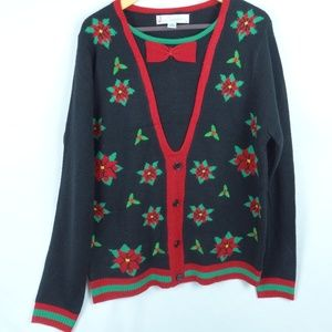 Ugly Christmas Sweater Jolly Sweaters Large